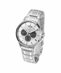 Jacques Lemans Men's Chronograph Quartz Watch with Stainless Steel Strap 1-1542M